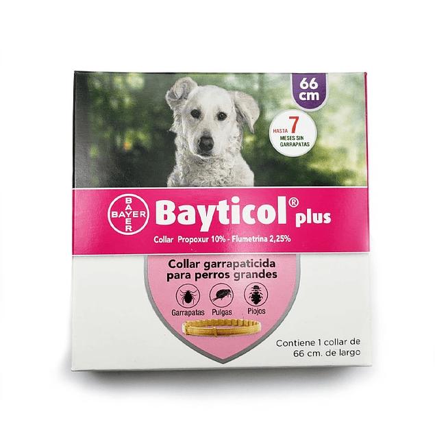 Collar Bayticol Plus Antipulgas de 66cm