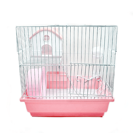 Jaula Hamster 2 pisos con escalera
