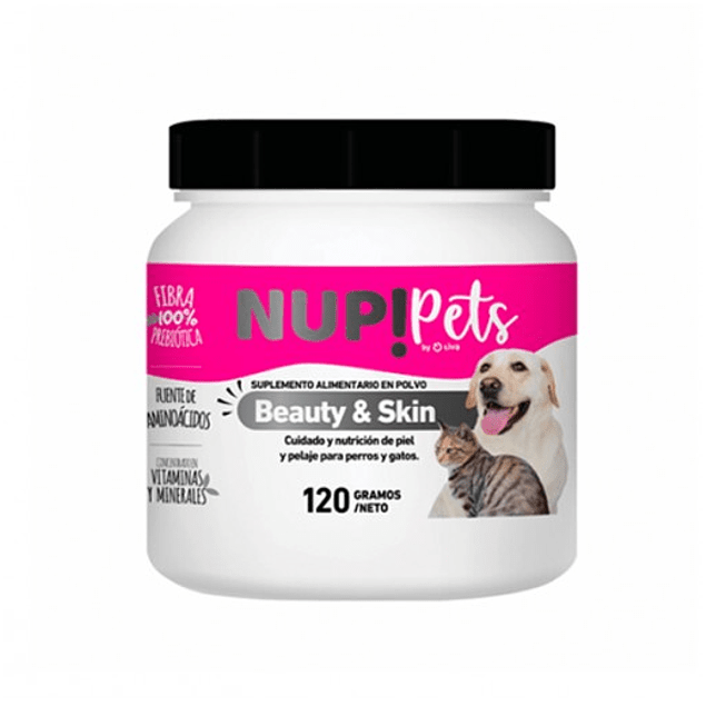 NUP! Pets Beauty & Skin 120Grs