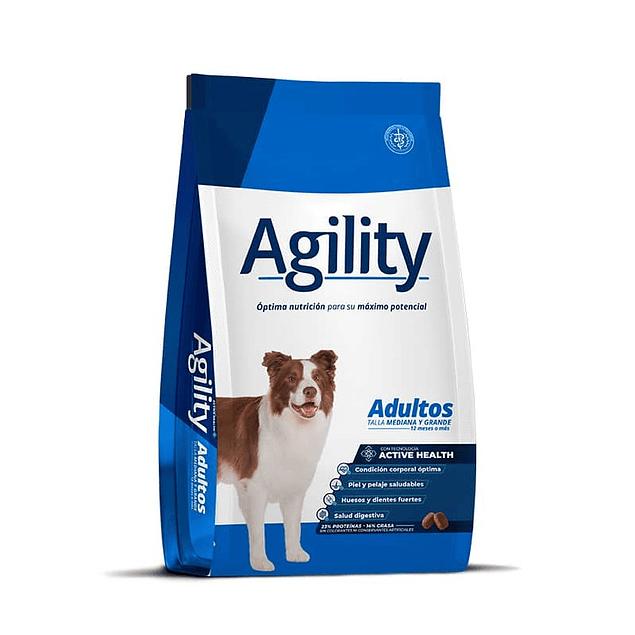 Agility Adulto Raza Mediana y Grande 15kg