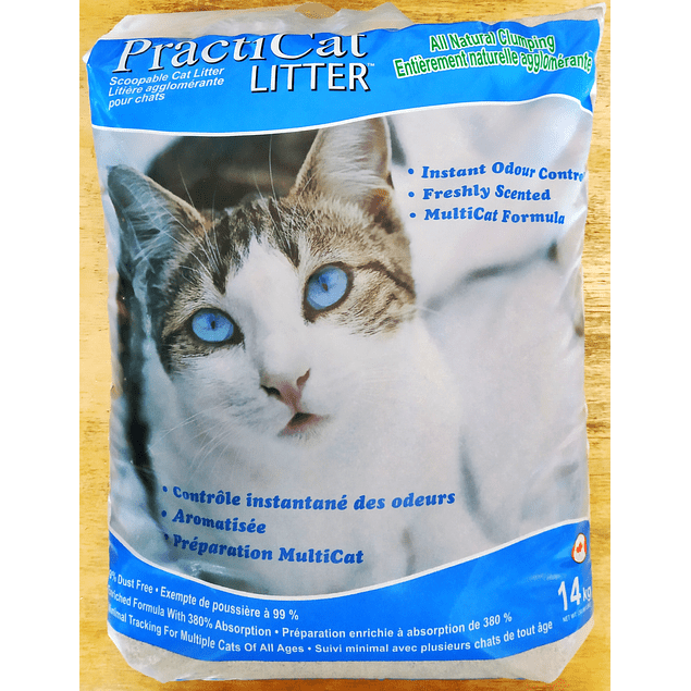 Arena para Gatos PractiCat de 14kg