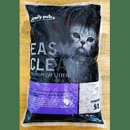 Arena para Gatos Easy Clean de 4kg (lavanda)
