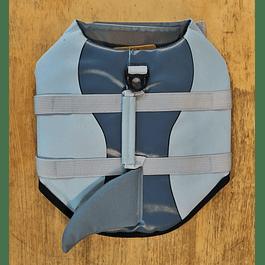 Chaleco Salvavidas Diseño Tiburón talla S