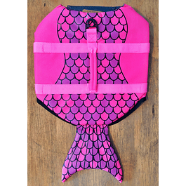 Chaleco Salvavidas Diseño Sirena talla M