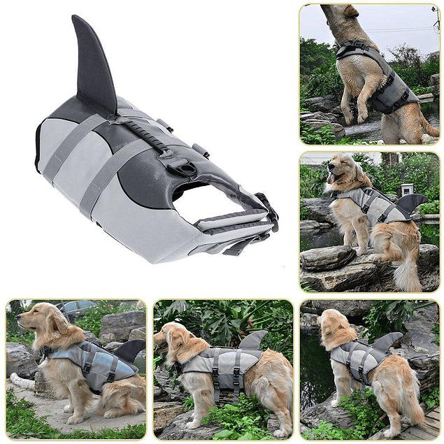 Chaleco Salvavidas Diseño Tiburón talla XS