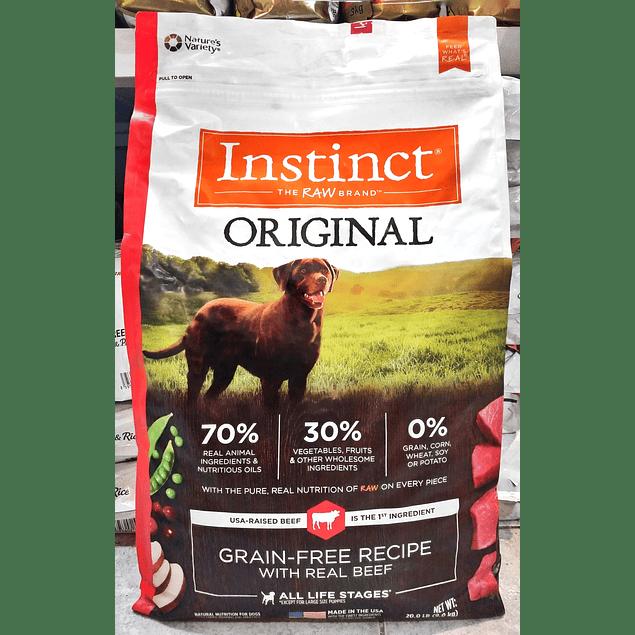 Instinct ORIGINAL Carne 9kg