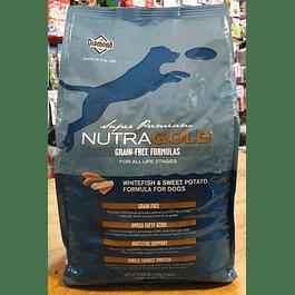 NUTRAGOLD Grain-Free Pescado Blanco 2,25kg