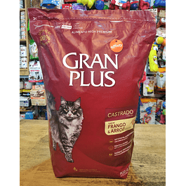 GRAN PLUS Gato Castrado (Pollo) 3kg