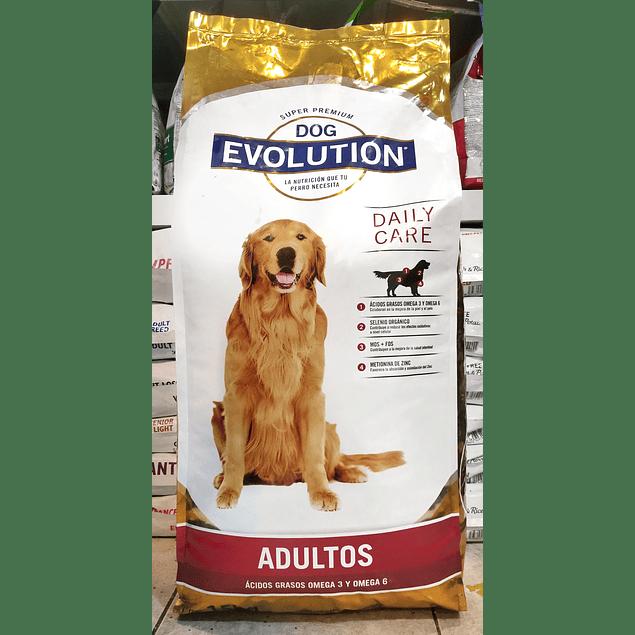 DOG EVOLUTION Adulto 15kg