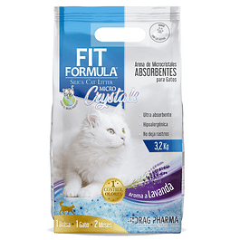 Arena para gato Fit Formula Micro Crystal 3.2kg