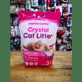 Arena para gato Marbenpets CRYSTAL CAT LITTER 3.8L