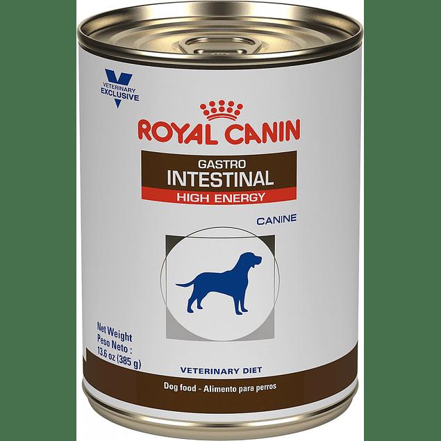 Lata Royal Canin Gastro Intestinal para perro 385g