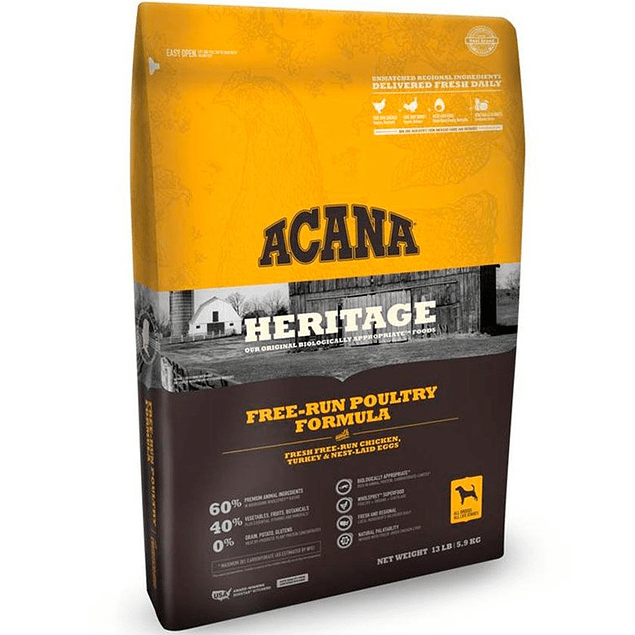 Acana Free-Run Poultry 11.35kg