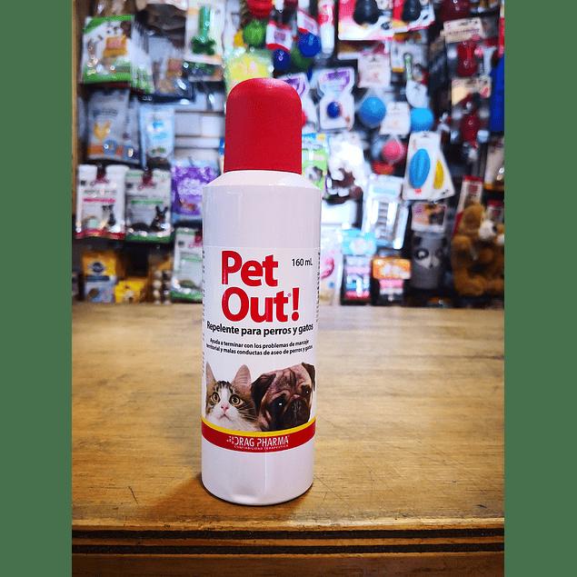 Pet Out/ Repelente para perros y gatos