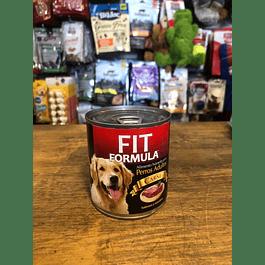 lata de perro fit formula adulto