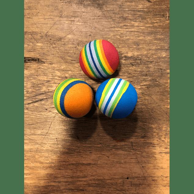 juguete pelota para gatos 3x