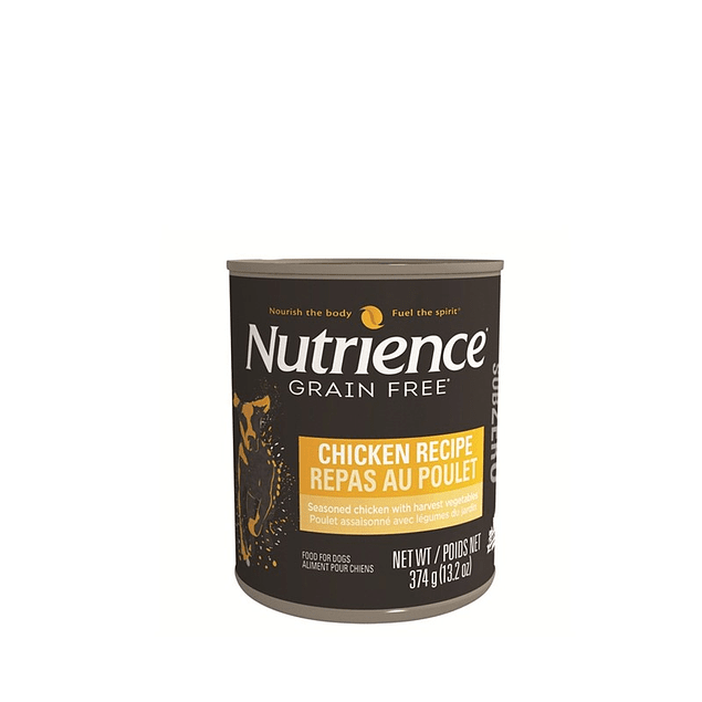 nutrience SUBZERO CANINO LATA POLLO 374gr.