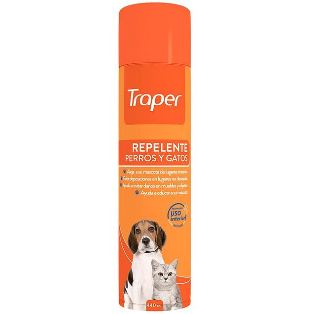 Traper Repelente En Spray Para Interiores