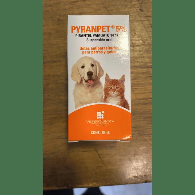 Pyranpet Antiparasitario Interno 5% 10 ml