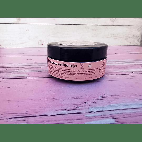 Crema Exfoliante de Arcilla roja