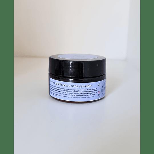 Crema de rostro piel seca o seca sensible