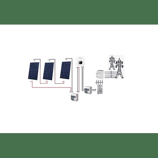 Kit On grid con LIMITACIÓN de  inyección a red 220VAC
