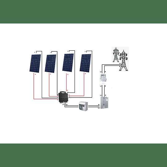 Kit On grid con EXCEDENTES de inyección a red 120VAC