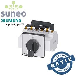 Transferencia trifásica manual Siemens 3LD  32a