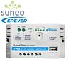 Controlador de carga solar PWM EPEVER LSXX24EU 12/24V 10/20A USB