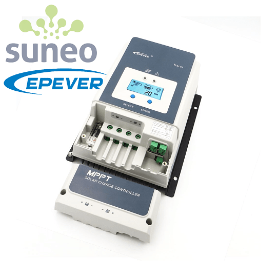 Controlador Regulador Solar Epever Tracer 60A MPPT LCD
