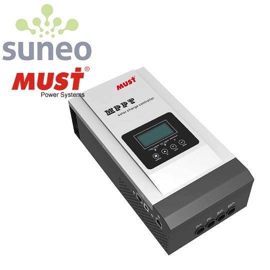 Controlador regulador solar Must MPPT 60A, Pantalla LCD, Comunicaciones