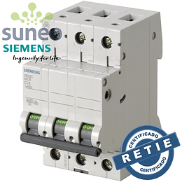 Breaker AC Siemens 3 polos, 400VAC