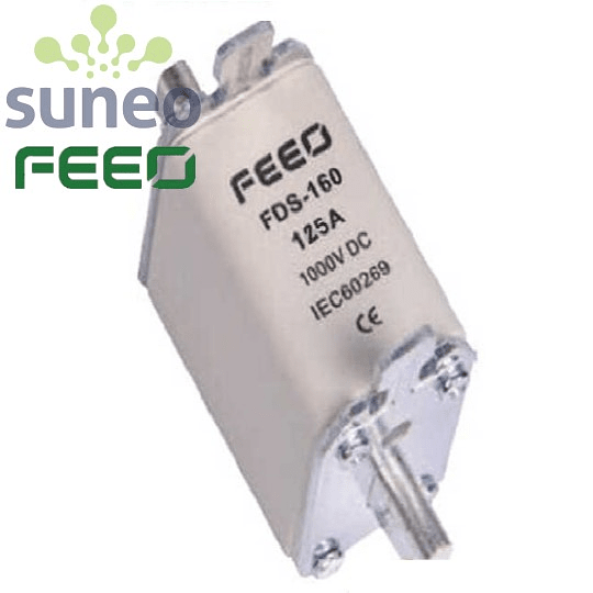 Fusible 100/125/160A, FDS-160 NH00, Categoría gPV 1000VDC