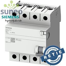 Interruptor diferencial Siemens 4 polos 40A, 30ma