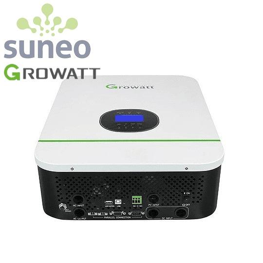 Inversor Growatt 3000W 24VDC/120VAC