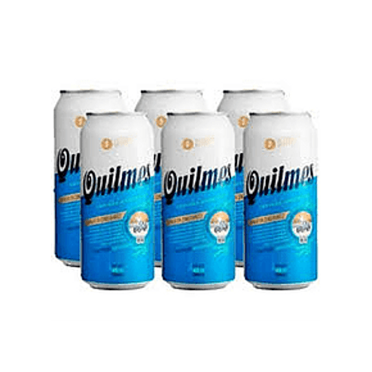 SIX PACK QUILMES 473CC