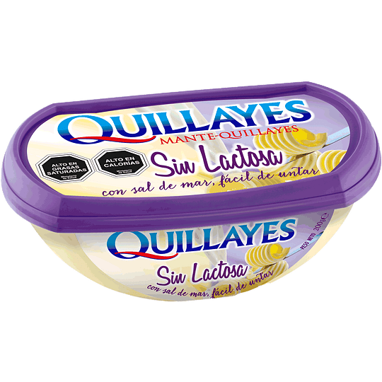 MANTEQUILLA QUILLAYES SIN LACTOSA 200G