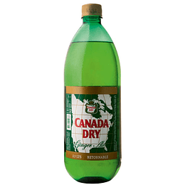GINGER ALE CANADA DRY 2.5LT. RETORNABLE