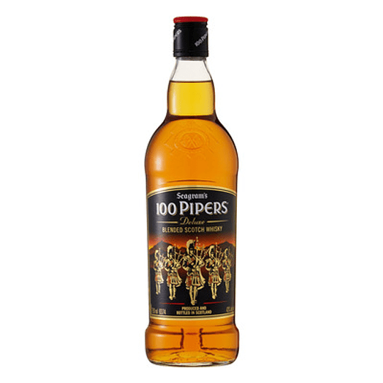WHISKY 100 PIPERS 750 ML.