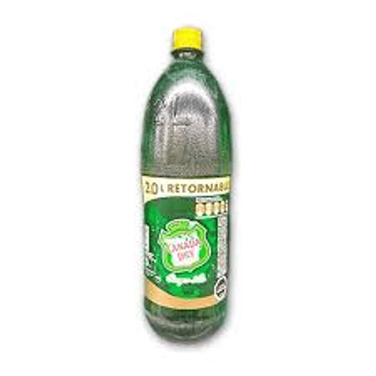 GINGER ALE CANADA DRY  2LTRS RETORNABLE