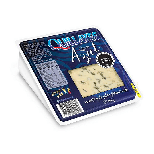 QUESO AZUL QUILLAYES 100GR.