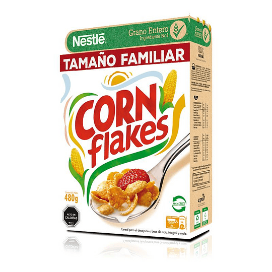 CEREAL CORN FLAKES NESTLE480GR.