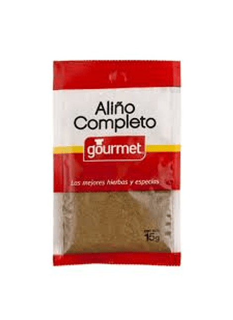 ALIÑO COMPLETO GOURMET 15 G