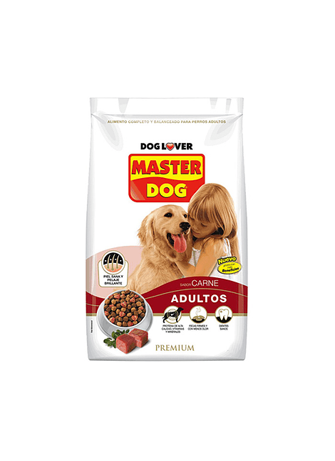ALIMENTO PERRO MASTER DOG CARNE 700 G