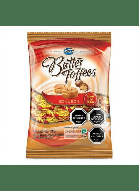 CALUGA BUTTER TOFFEES BON O BON 130 G