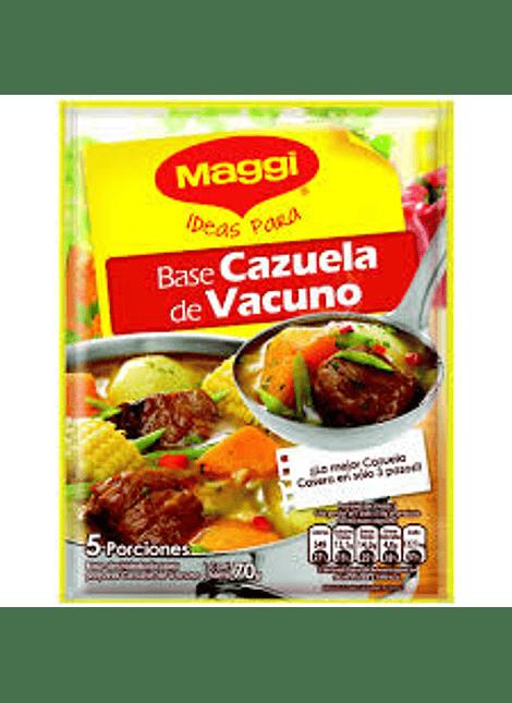 BASE CAZUELA VACUNO MAGGI 70 G