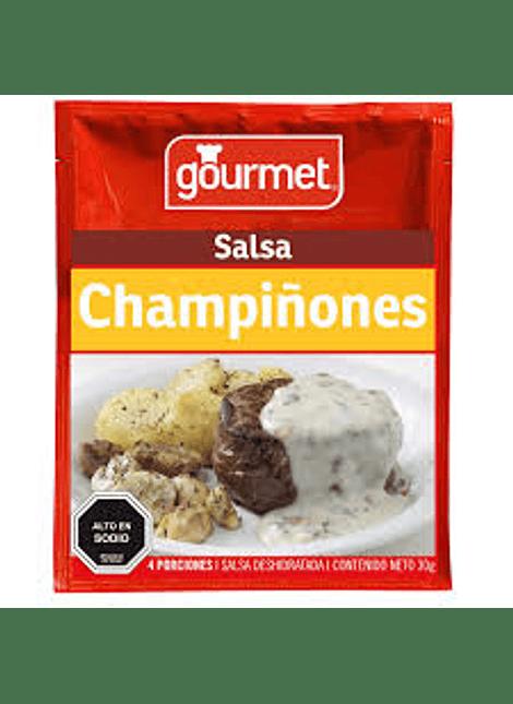 SALSA CHAMPIÑONES GOURMET 30 G