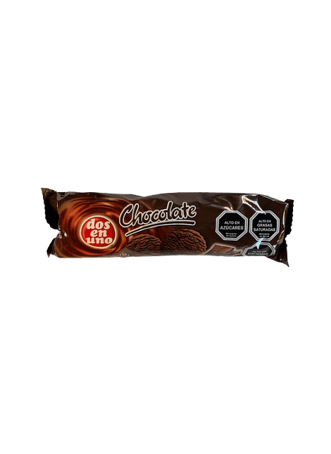 GALLETA CHOCOLATE DOS EN UNO 140 G