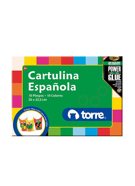 ESTUCHE CARTULINA ESPAÑOLA TORRE 10 UN