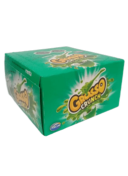 CAJA CHICLE GROSSO CRUNCH MENTA 40 UN